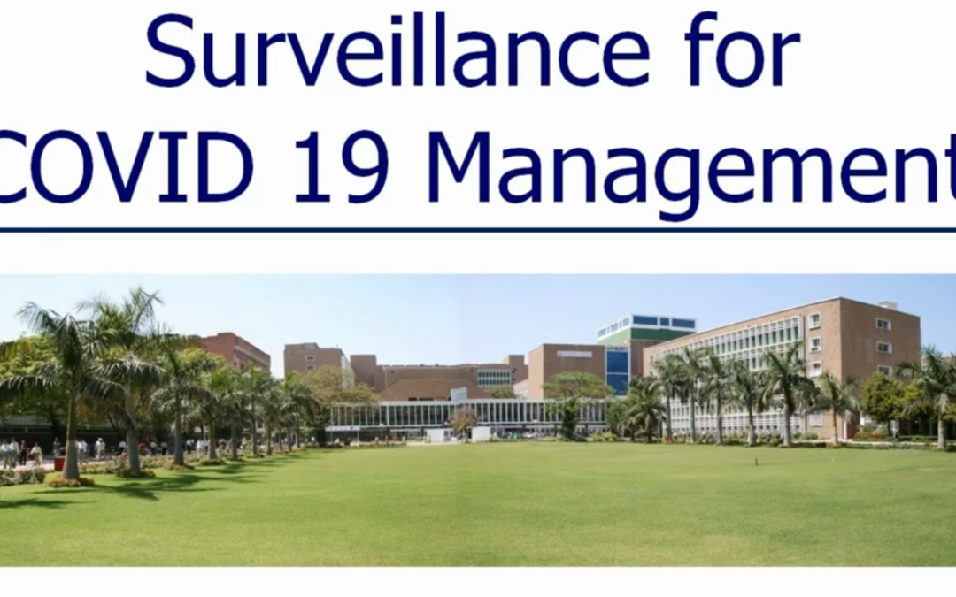 Surveillance for COVID19 Management – Planning