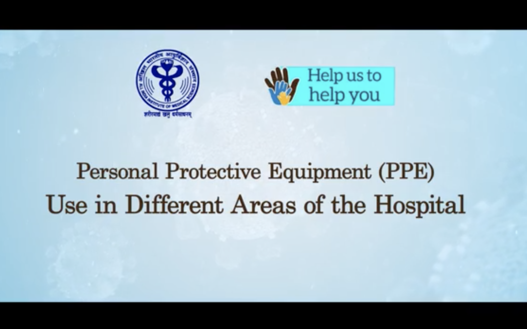 PPEs in Different Hospital Areas