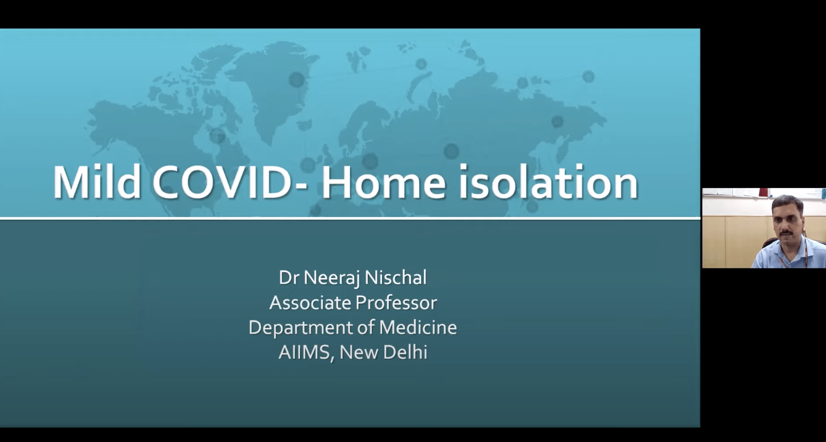 COVID19 Management – Home Isolation