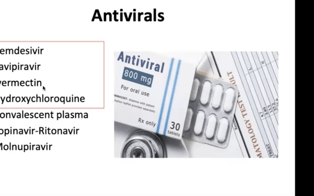 Remdesivir and other antiviral agents