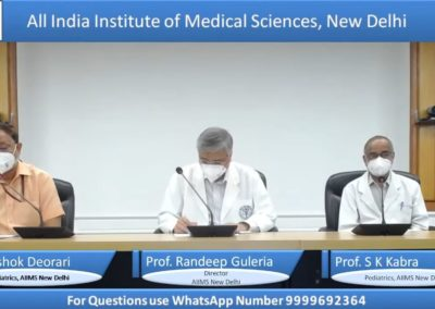 Covid-19 in Children – Case based Interactive Session by AIIMS, New Delhi