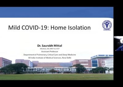 AIIMS-IMA Webinar Series: Home isolation, Monitoring, Management and Referral